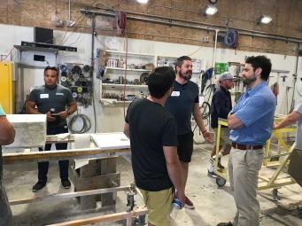 Workshop SFA - Brothers in Granite